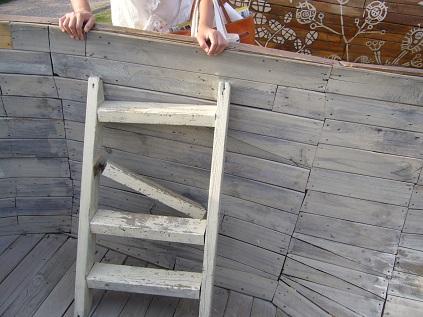階段が・・・