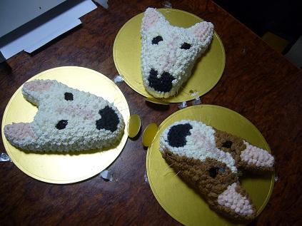 ワンコ用ケーキ!