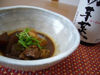牛すじ・こんにゃく・焼き豆腐のどて煮