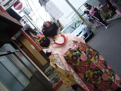 舞妓さん風!!!