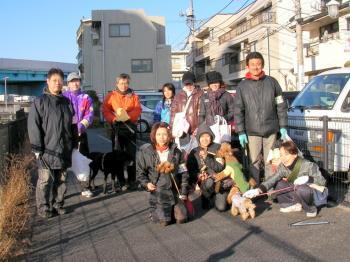 「第4回ドッグウォークin東村山」記念撮影