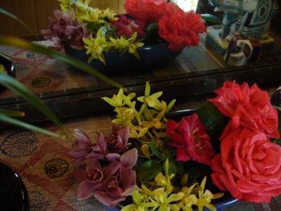 お花 並べる
