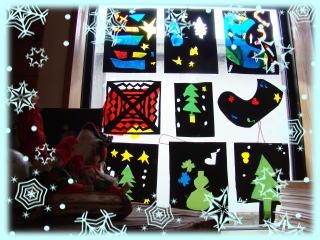 クリスマス会で制作しました