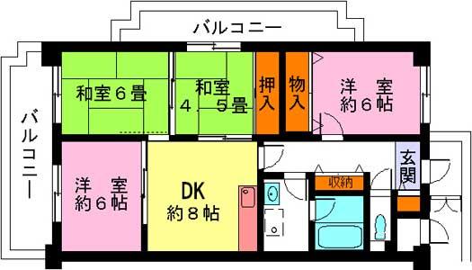 ルモン淡路東601号カラー