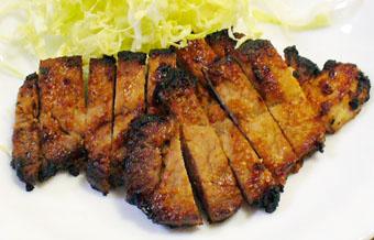 豚肉味噌漬け焼き