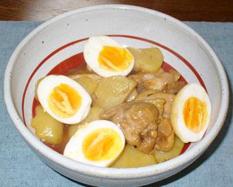 鶏のポン酢煮