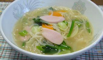 スープビーフン