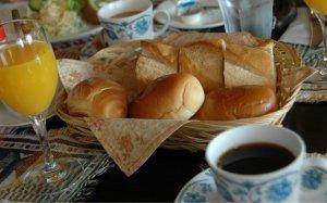 軽目の朝食