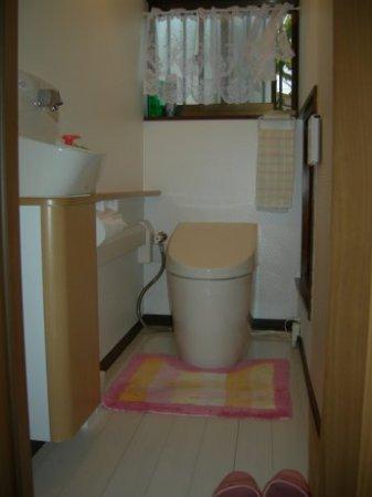 1階 新トイレの内部