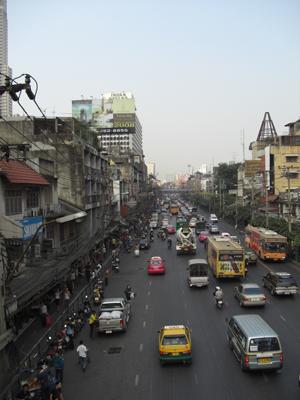 バンコクの景色。