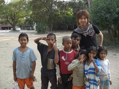 どこの国に行っても子供はかわいい。