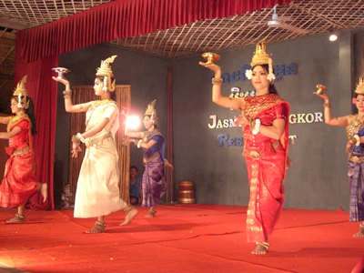 カンボジア舞踊。