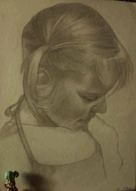 金髪の女の子。