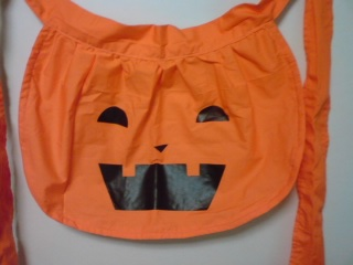 かぼちゃエプロン