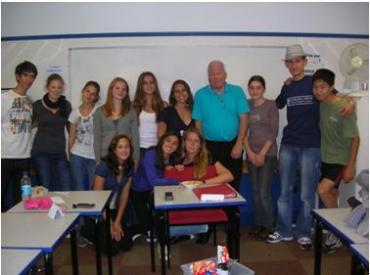 class mates and teachers  churchill house