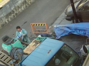 ガレージ工事2009-01