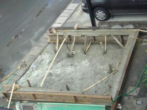 ガレージ工事2009-03