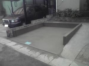 ガレージ基礎2009-09