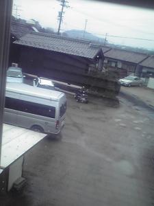 雨の日通勤2009-3-3