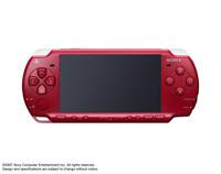 PSP(プレイステーションポータブル)本体 ディープ・レッド