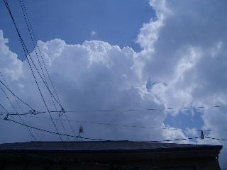 モクモク雲 雲