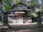 本丸付近:八王子神社