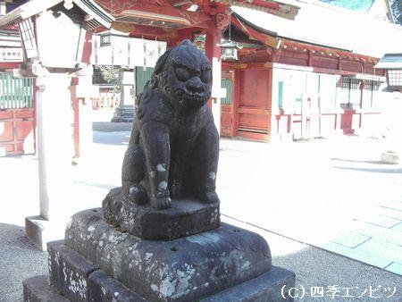 塩竈神社 狛犬