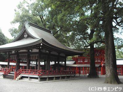 大宮 氷川神社舞殿