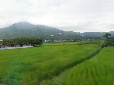 バスからの筑波山