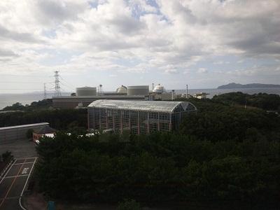 会派視察、玄海原子力発電所。