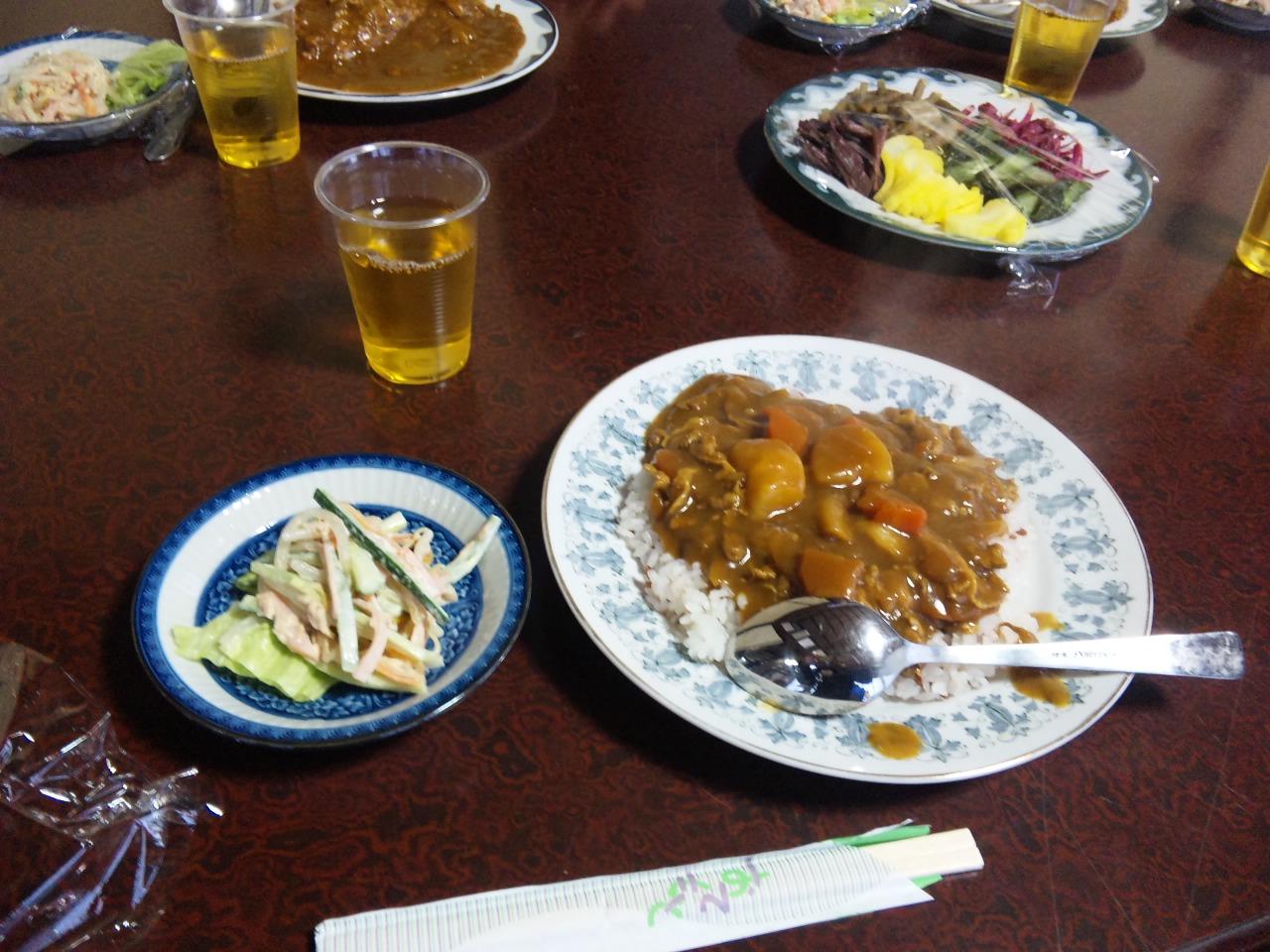 古代米入りごぼうカレー