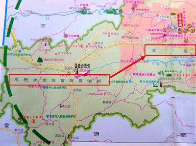 #35843;整大小 宜昌地図