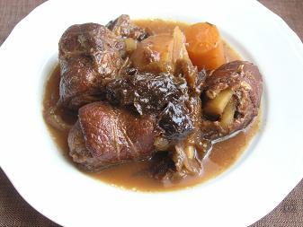 豚肉のプラム煮リベンジ