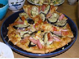 ピザ(なす)