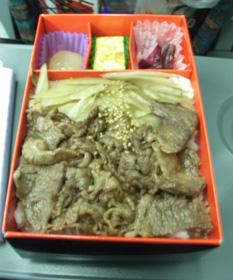 牛飯弁当02