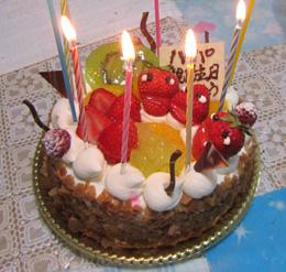 誕生_ケーキ