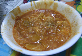 トマト鍋 02