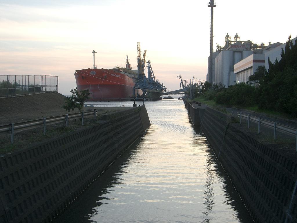 千葉港 水路