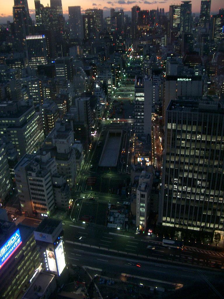 マッカーサー道路 俯瞰夜景