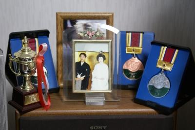 メダル 結婚記念日