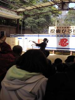 忍者のショー