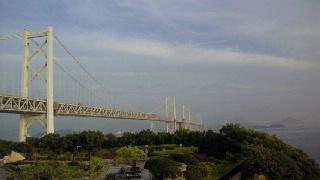 瀬戸大橋与島から