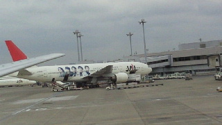 20101022嵐の飛行機