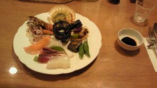 20101024ペンション夕食1