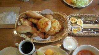 2010.10.23ペンション朝食2