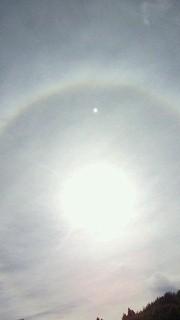 20101023宍道湖での虹