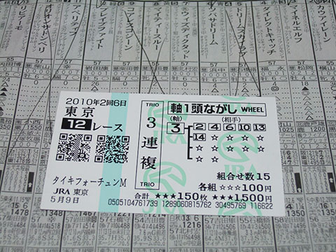 NHKマイル201012
