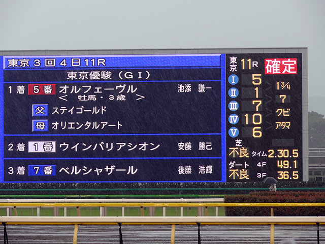 第78回 東京優駿観戦12