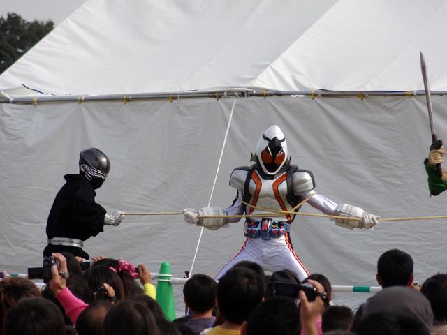 仮面ライダーフォーゼ ショー02
