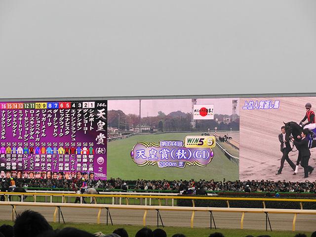 天皇賞秋201117